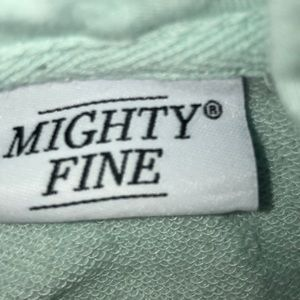Mighty Fine Tops - cropped new york los angeles juniors hoodie